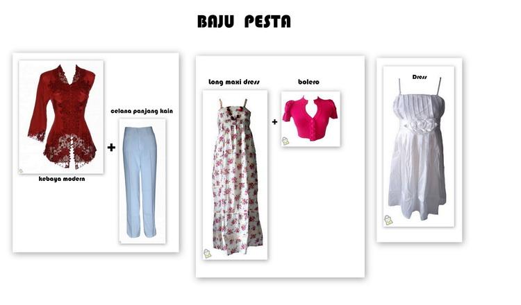 Baju - Baju Wanita