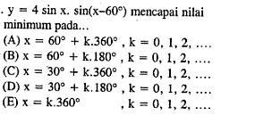 Contoh Soal Trigonometri Contoh Soal Carapedia