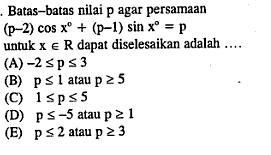 Contoh Soal Trigonometri