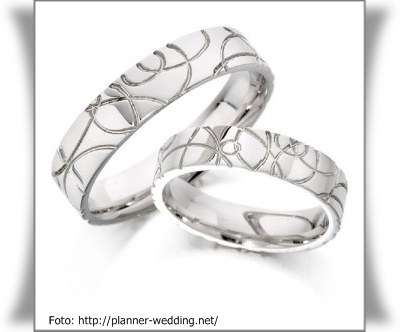 Cincin Pernikahan Unik