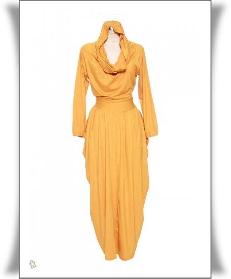 16 desain baju muslim gamis anak muda modern baju Baju gamis anak muda