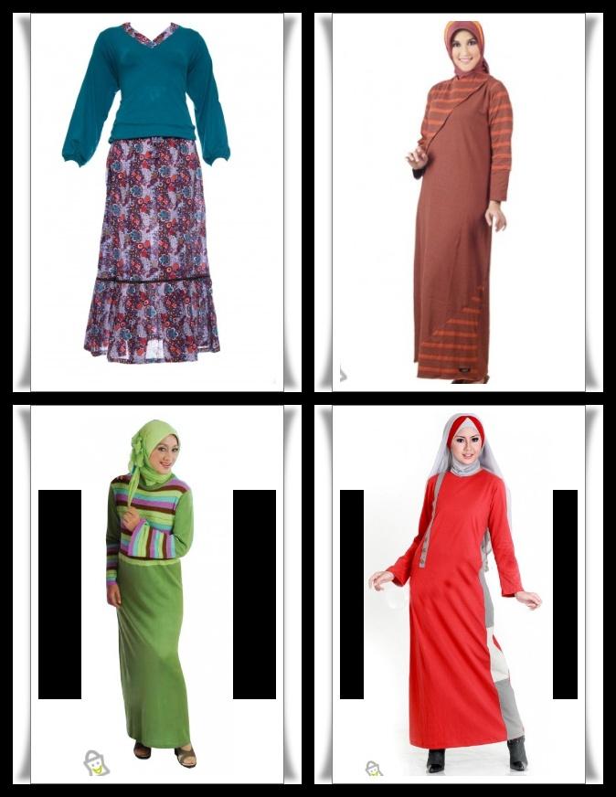 Baju Muslimah Terbaru 2012