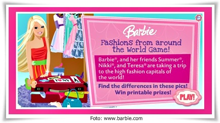 Barbie fashion around the world games 61