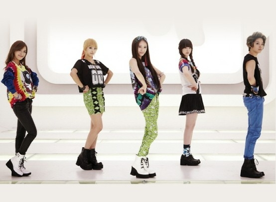 Brand Sepatu Yang Sering Dipakai Idola K-POP - Mode / Fashion ... F(x) Electric Shock Album Cover