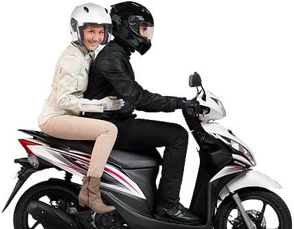 Bersiap-siap mudik di akhir pekan dengan sepeda motor ke luar kota