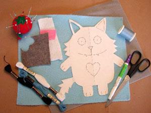 Bahan-bahan yang perlu dipersiapkan untuk kreasi flannel apa aja sih?
