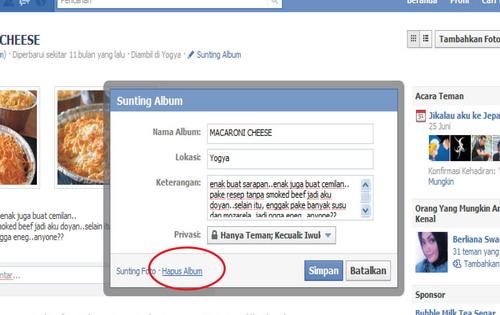 Cara menghapus akun facebook selamanya