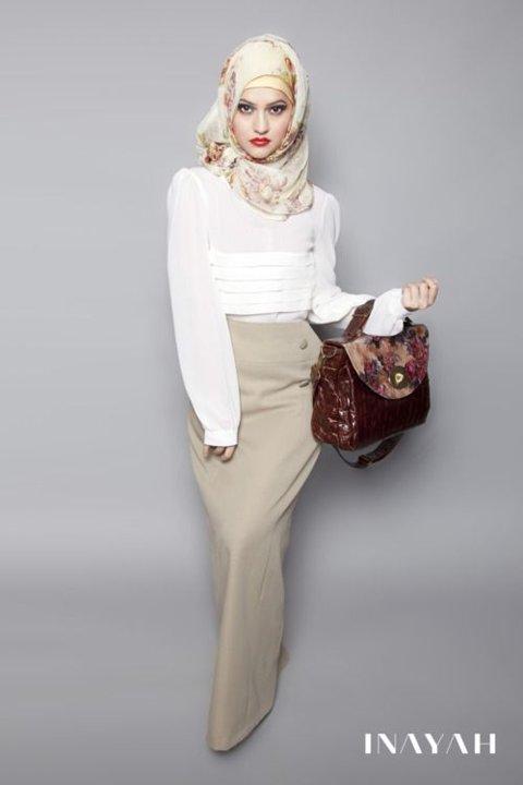 10 Inspirasi Gaya Jilbab Kerudung untuk Ke Kantor