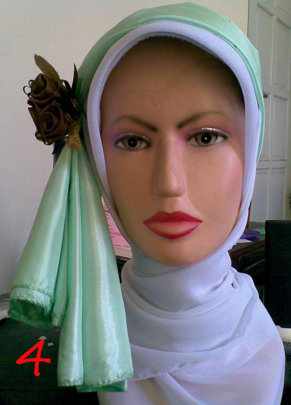 Cara Memakai Jilbab Pesta Segi Empat Modern By Revi