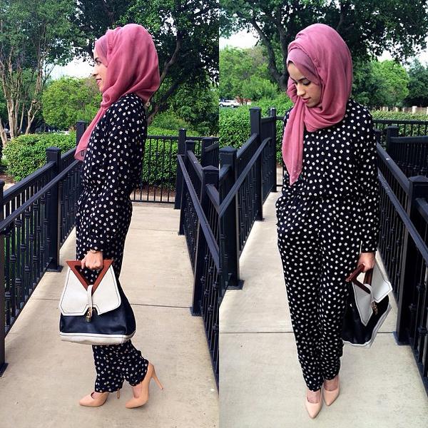 Padukan Hijab Dan Jumpsuit Perlu Trik Ini Lho Mode Fashion