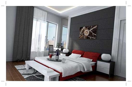 interior dekorasi kamar tidur modern rumah carapedia