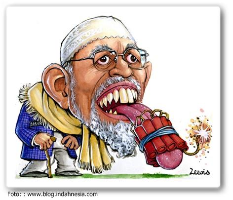 Contoh Karikatur Lucu Indonesia