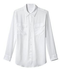 Baju Kemeja Putih Lengan Panjang