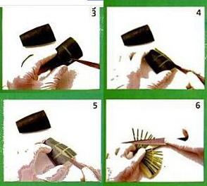 Cara membuat Garnish