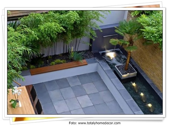 foto foto kolam minimalis rumah carapedia