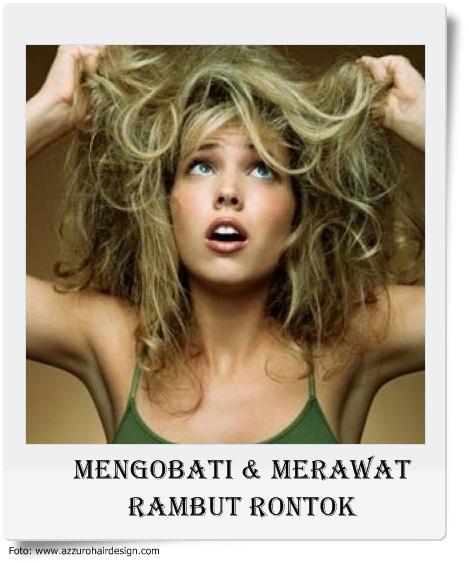 Rambut adalah mahkota wanita karena rambut merupakan bagian penting