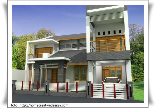 contoh foto rumah minimalis rumah carapedia