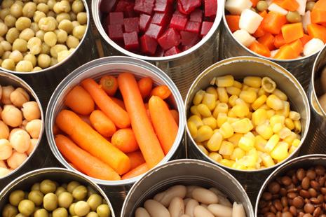Sayuran dalam kaleng