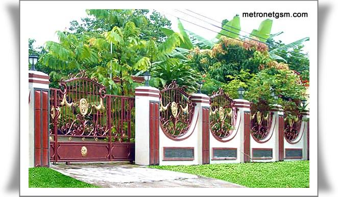 pagar rumah sebagai referens kita dalam memilih model pagar rumah kita
