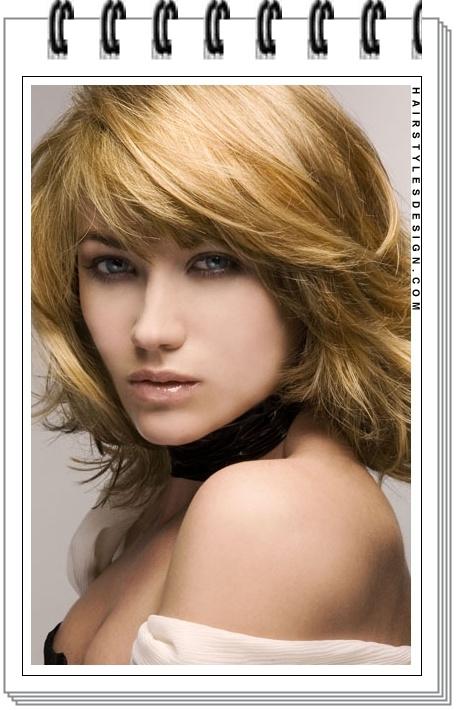 potongan rambut keriting gantung