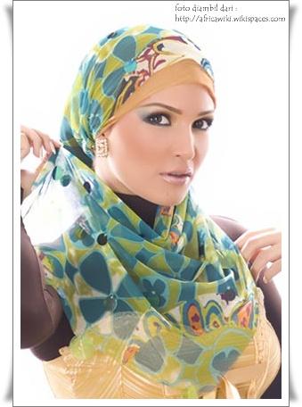 cara memakai jilbab modern bisa mempercantik penampilan jilbab kita