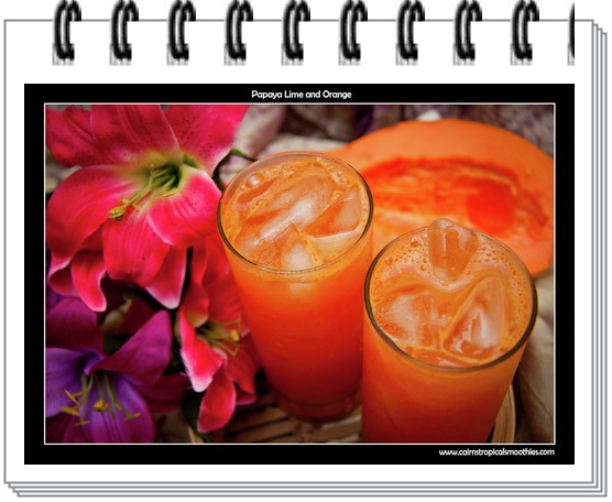 cara membuat jus buah pepaya jeruk cara buat