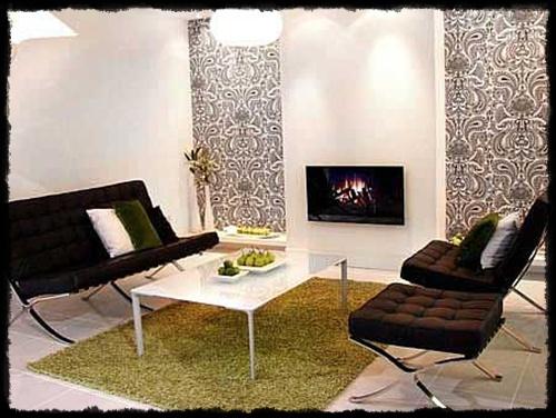 desain interior ruang tamu rumah carapedia