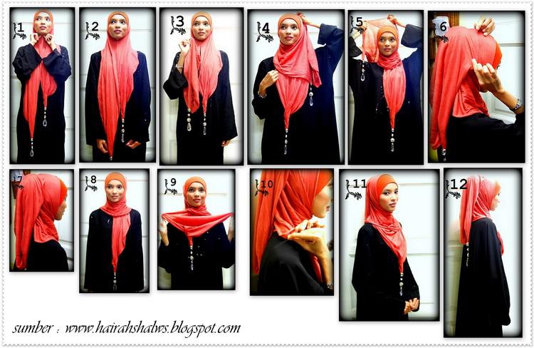 Selendang gypsy untuk jilbab