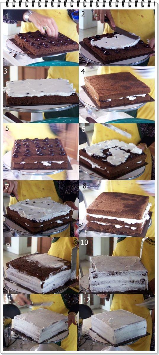 Cara Membuat Kue Black Forest