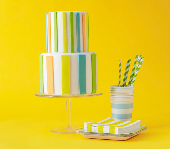 Striped Birthday Theme