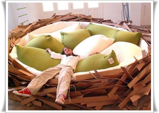 foto tempat tidur anak anak