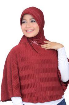 Id Model Jilbab Untuk Kebaya Mode Fashion Frisket Kartika Jilbab Merah