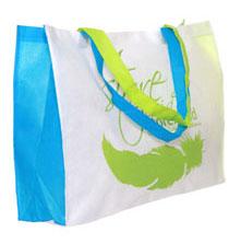 Tote Bag Store Biru-Hijau-Putih (Juli 2011)