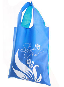 Tote Bag Girly Biru (September 2011)