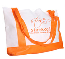 Tote Bag Store Putih Orange (2011)